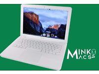 "Apple 13"" MacBook Unibody White 2.4Ghz 4GB 250GB HD Logic Pro X Microsoft Office Suite Final Cut Pro"