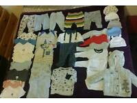 Baby boy clothes bundle 0-3 months (Including M&S, Next and Mothercare)