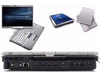 Semi-Rugged Laptop (WINDOWS 10 PRO) HP Elitebook Core™ i5,8GB RAM, Multitouch 2-in-1 +UltraSlim Dock