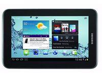 Samsung Galaxy tablet 2 boxed tab tab2