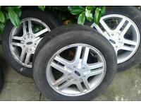 "Ford Focus zetec alloys mk1 15"" 4 stud"