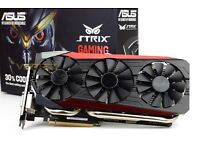 Nvidia 980 GTX Ti Asus Strix Gaming