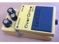 Boss OD-3 Overdrive & Sustain Electric Guitar Stompbox Effects Pedal