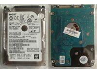 """HGST HTS721010A9E630 1TB, Internal, 7200 RPM, 6.35 cm (2.5"""") (0J22423) Laptop, Desktop HDD + Ext.BOX"""