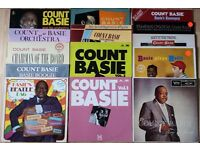 14 Jazz LPs - Count Basie Vinyl LP Albums In VG condition for sale as JOB LOT - All Listed/Graded