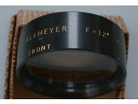 Vintage J H Dallmeyer Objectives -- Post paid in UK.