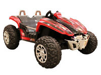 DIRT RACER !!beach Buggy 12v Electric Battery Ride on massive two seater