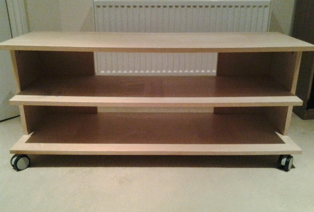 ikea tv stand on wheels buy sale and trade ads great prices. Black Bedroom Furniture Sets. Home Design Ideas