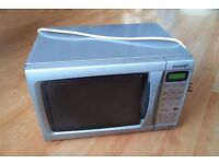 Sharp R254SLM - Compact Microwave Oven, 20L, 800W, Touch Control, silver