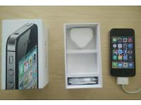 iPhone 4s w/ box and headphones. 16gb on O2