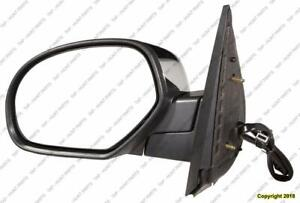 Door Mirror Power Driver Side Heated With Offroad Without Courtesy Without Signal Chrome Cap Chevrolet Tahoe 2007-2014