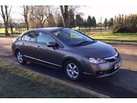 Honda Civic 2010 1.4 Hybrid Saloon Auto 4 Door, 1 Owner 83k Miles Full Service History, HPI clear