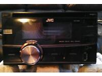 JVC Car Stereo and CD Player