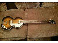 Hofner HCT-500/1 Contemporary Series Violin Bass Guitar with Gigbag