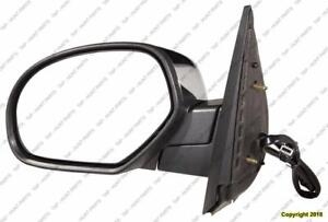 Door Mirror Power Driver Side Heated With Offroad Without Courtesy Without Signal Chrome Cap Chevrolet Suburban 2007-201