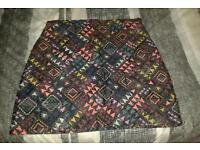 Topshop A Line Skirt Size 14 New