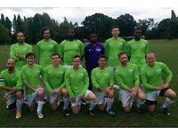 Players wanted in Southfields: 11 aside football team. SATURDAY FOOTBALL TEAM LONDON REF: trs2