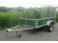Trailer 8x5*drop down ramp*ideal quad,ride on mower*