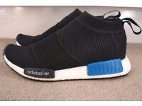 **Adidas NMD City Sock Prime-knit Shoes Black UK Size 8 Freepost**