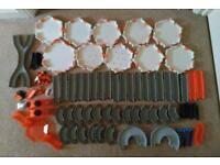 Hex Bug Nano Habitat System - Huge Bundle of Track including the Bridge Battle Set