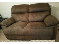 2 Seater Manual Recline Sofa 5 year old in good condition, Purchased from CSL.