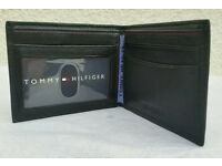 Brand new Tommy Hilfiger Genuine leather bi fold wallet