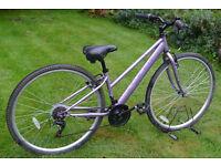 "Apollo Haze lady's hybrid bike, small 14"" frame, Shimano 18 speed gears, 700c wheels"
