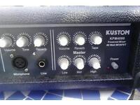 Pa mixer/amp Kustom