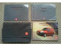 Citroen berlingo owners manuals