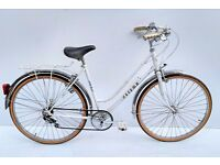 vintage ladies peugeot meteor town bicycle