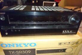 Onkyo sr309 cinema receiver and Devon 5.1 speaker system