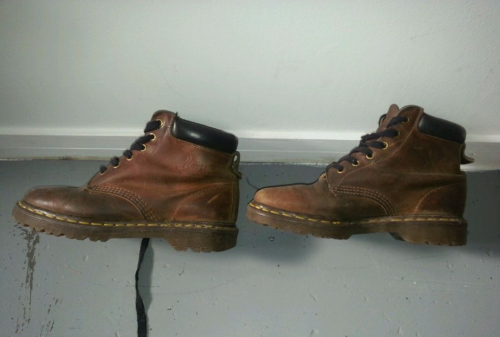 Dr Martens Core 939 Brown Hiking Boots, Genuine Leather, Size 6 ...