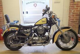 DEPOSIT RECEIVED AMAZING CLASSIC 1988 HARLEY DAVIDSON XL883 MANY EXTRAS