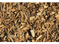 WOODCHIP MULCH 350 LITRES: for pathways and gardens, keeping them free of weeds