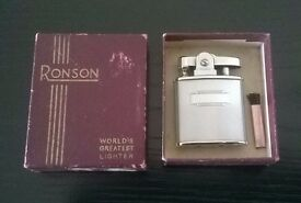 vintage ( circa 1960s ) ronson princess lighter