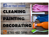 We clean and you can relax and enjoy your time!