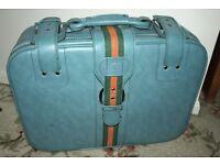 Vinyl Suitcase & Shoulder Bag