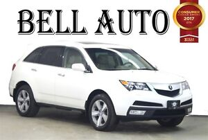 2012 Acura MDX TECK PKG NAVIGATION DVD LEATHER SUNROOF