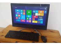 "Lenovo All-in-One PC C365, AMD A4 Quad Core, 8GB RAM, 1TB HDD, Radeon HD8330, 19.5"" LED, HDMI, USB 3"