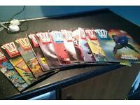 11 2000 ad judge dredd comic books in good condition