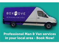 Professional and Affordable Man and Van services in East Glasgow!
