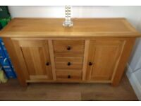 Kitchen table with chairs & Cabinet £290