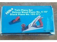 """Hilka Twin Plane Set (No 4-10"""" and No 102-5.5"""")"""