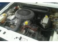 Ford 1.4 cvh engine and gearbox 31000 genuine miles can be heard running fiesta Escort Orion