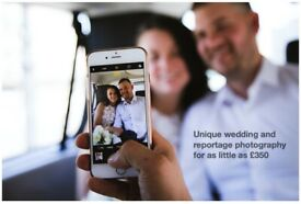 Experienced Wedding & Portrait Photographer from £350 (last minute no problem)