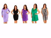 Brand New Job Lot Wholesale Plus Size Jersey Dresses For Resale Markets Car Boots