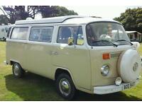 VW T2 Devon Bay Camper Van