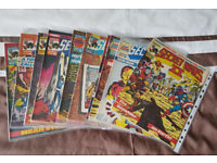 SECRET WARS 1 & 2 COMICS - JOB LOT OF 27 ALL IN GOOD CONDITION CAN POST