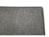 New, Plain, Green Marl Rug (286x217cm)