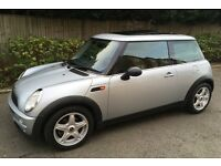 AUTOMATIC 2003 MINI COOPER ONE VERY LOW MILEAGE LEATHER TRIM PANORAMIC SUNROOF AUTO COOPER ONE S